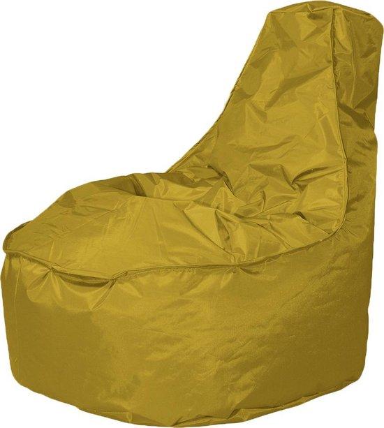 Leuke Zitzak Stoel.Bol Com Drop Sit Zitzak Stoel Noa Large Geel 320 Liter