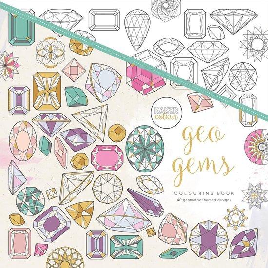 Kaisercraft Kleurboek voor Volwassenen Geo Gems - Kaiser Craft |