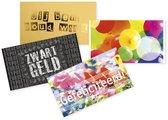 Geld-kado-enveloppen (set van 4)