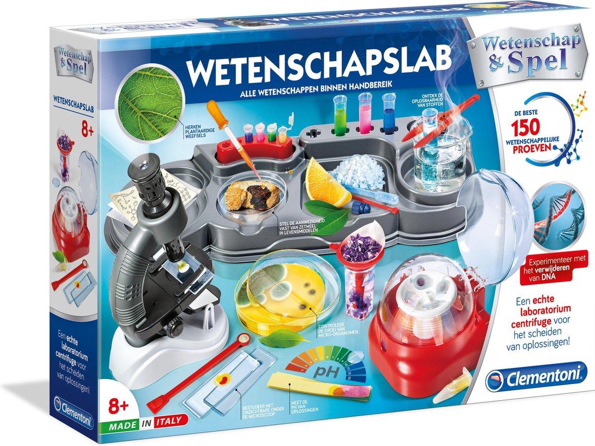 Clementoni Wetenschapslab - wetenschap & spel
