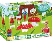 BiOBUDDi Juf Roos Op een grote paddenstoel - 24 delig