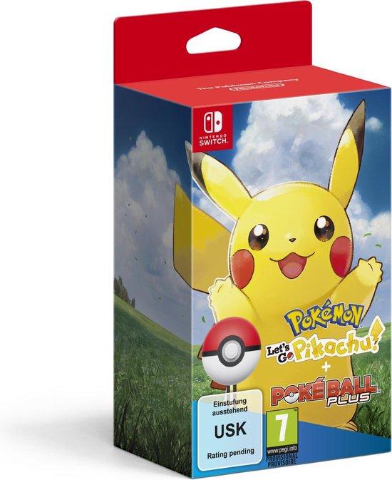 Pokémon: Let's Go, Pikachu! + Poke Ball Plus Pack - Nintendo Switch