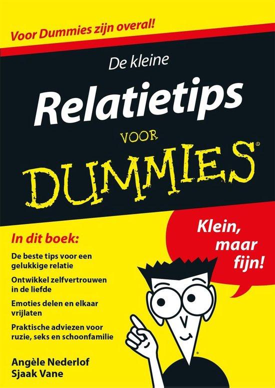 Voor Dummies - De kleine relatietips voor Dummies - Angele Nederlof |