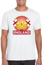 Wit Engels kampioen t-shirt heren - Engeland supporters shirt L