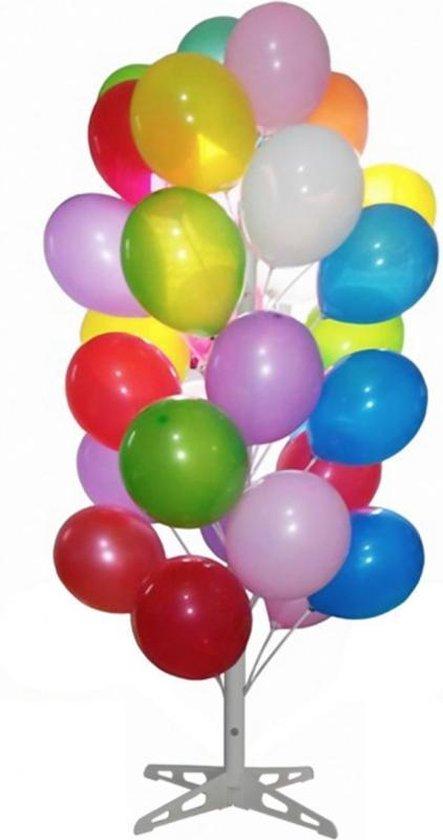 Ballonnenboom wit   180 cm   voor 40 ballonnen