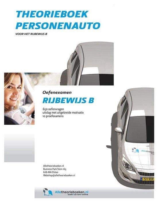 Theorieboek Rijbewijs B met cd-rom proefexamens - Alletheorieboeken |