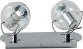ETH Vetro - Plafondlamp - 2 lichts - Helder Glas