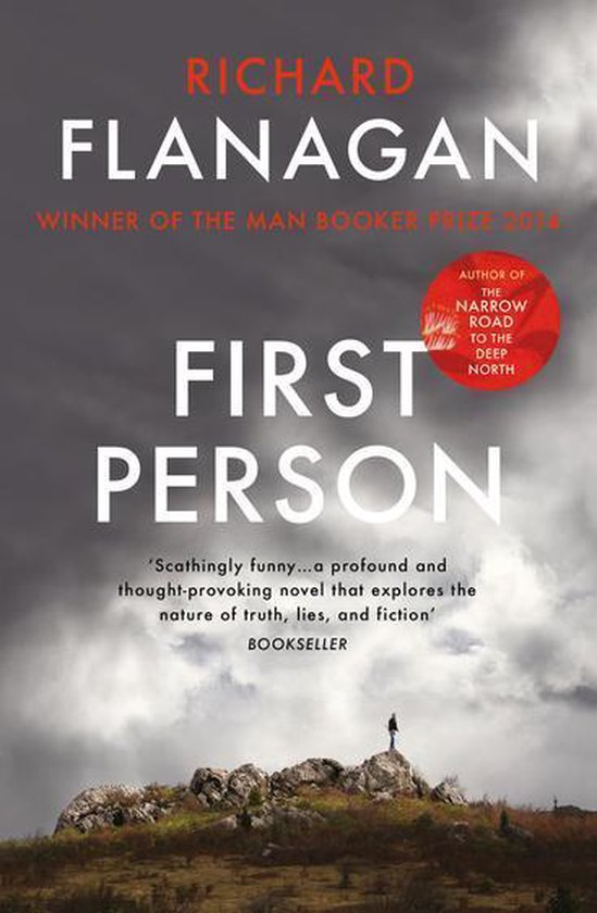Boek cover First Person van Richard Flanagan (Onbekend)