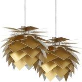 Dyberg Larsen Pineapple XS LED Plafondlamp 18 cm Set van 2 Stuks