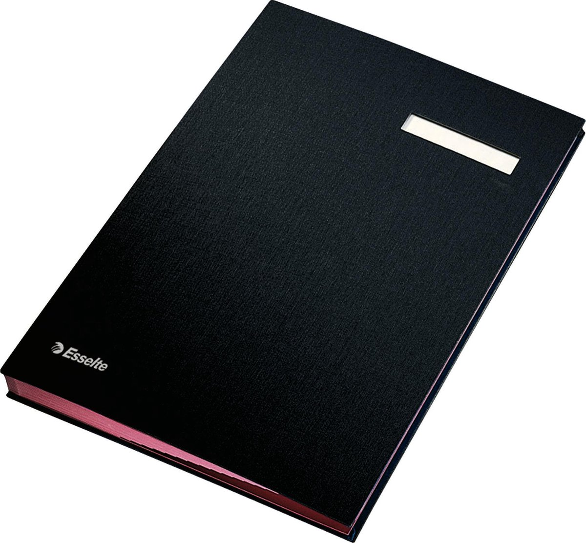 Esselte Vloeiboek Karton - Zwart
