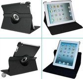 360 Graden Draaibaar Stand Case zwart - Apple iPad Air