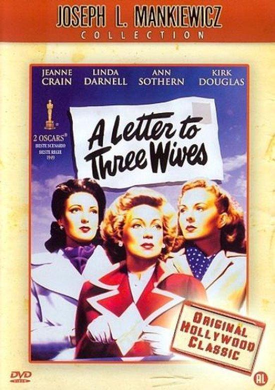 Cover van de film 'A Letter To Three Wives'