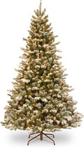 Kunstkerstboom Snowy Sheffield Spruce Hinged Tree 213cm 600L