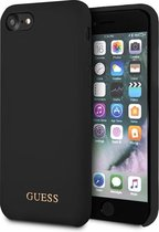 Guess Backcover hoesje Zwart - Soft Touch - iPhone 8 - GUESS Collection