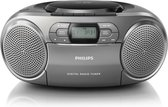 Philips AZB600 - DAB+ Radio/CD-speler - Grijs