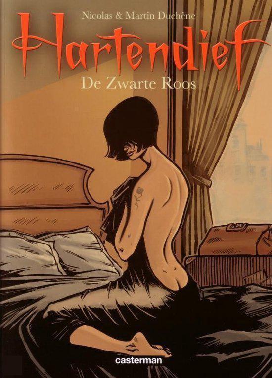 Cover van het boek 'Hartendief / 2 De zwarte roos' van N. Duchene