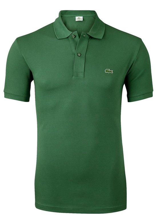 Lacoste Heren Poloshirt Groen Slim Fit - Xl