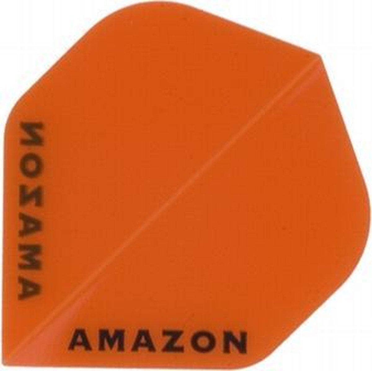 5 sets (15 stuks) Ruthless flights Amazon Transparant Std Orange