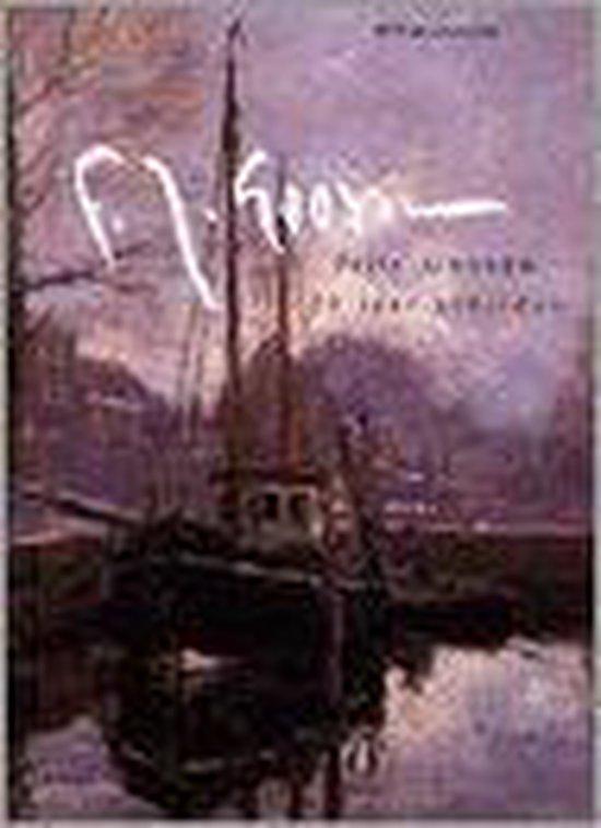 Frits Goosen 20 jaar schilder - W. Laanstra  