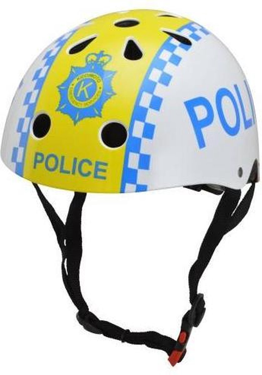 Kiddimoto helm Police Medium