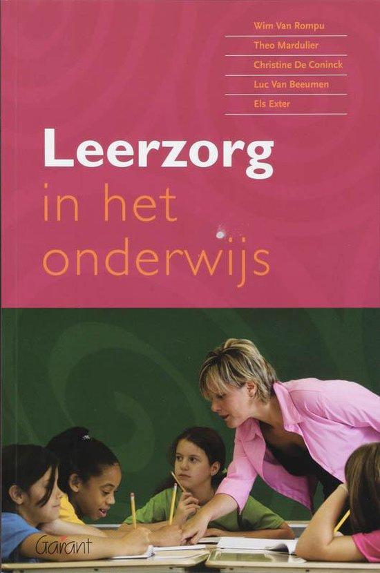 Leerzorg In Het Onderwijs - Wim Van Rompu |