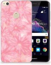 Huawei P8 Lite 2017 Uniek TPU Hoesje Spring Flowers