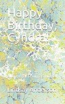 Happy Birthday, Cyndra!