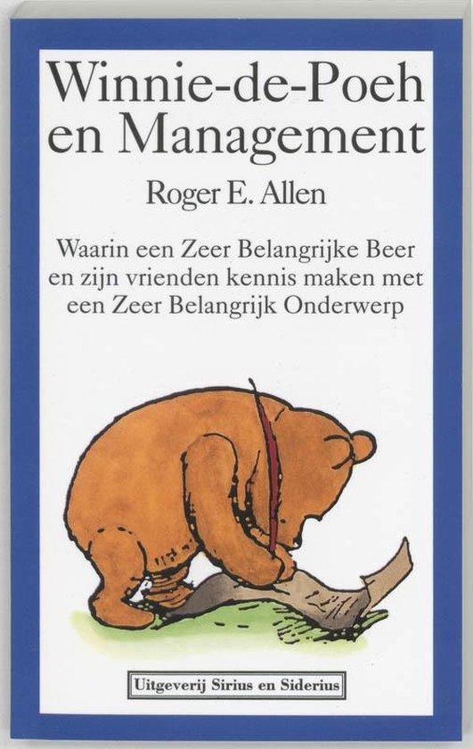 Cover van het boek 'Winnie-de-Poeh en management'
