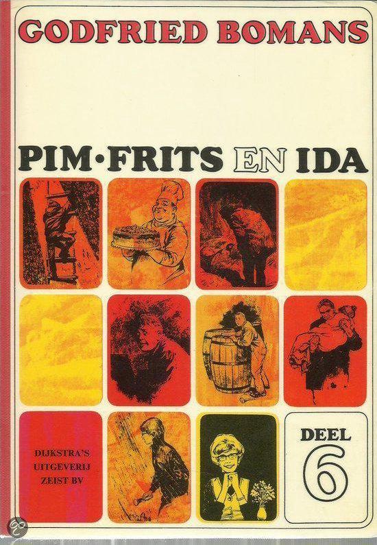Pim, Frits en Ida deel 6: Verdwaald op zee - Godfried Bomans |