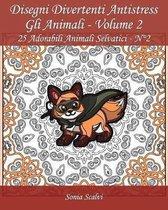 Disegni Divertenti Antistress - Gli Animali - Volume 2