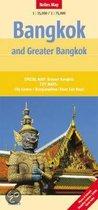 Bangkok And Greater Bangkok Nelles Map
