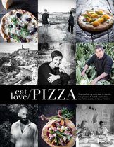 Boek cover Eat, love & pizza van Valentina Gatti (Hardcover)