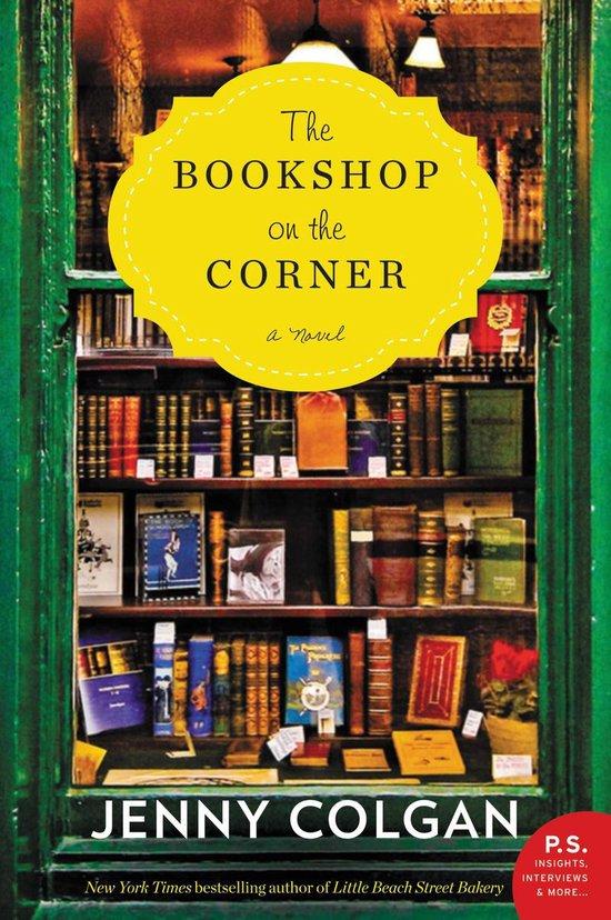 Omslag van The Bookshop on the Corner