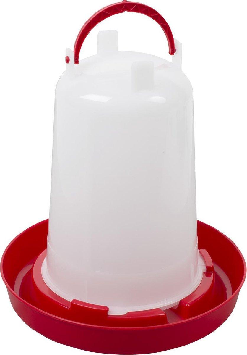 Beeztees Plastic drinktoren wit 1,5 liter