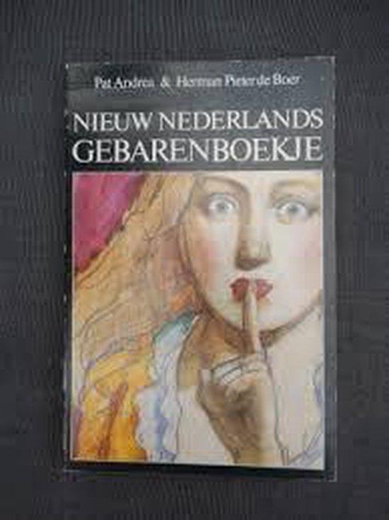 Nieuw nederlands gebarenboekje - P. Andrea  