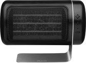 Duux Twist Heater DXFH01   Elektrische kachel   1500 Watt   Ventilatormodus   3 Snelheden   Zwart