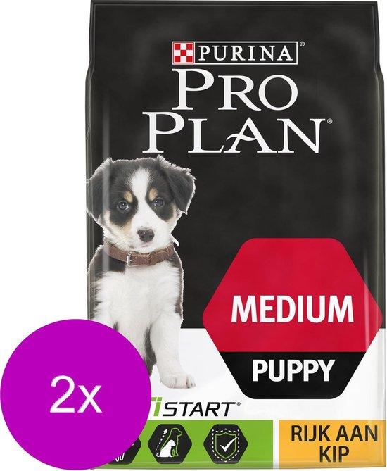 Pro Plan Dog Puppy Medium Breed Kip - Hondenvoer - 2 x 3 kg
