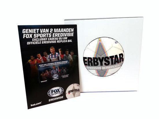 Derbystar Eredivisie 2013/2014 Replica - Voetbal + 2 maanden FOX Sports Eredivisie - 5 - Wit