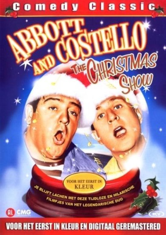 Cover van de film 'Abbott And Costello - The Christmas Show'