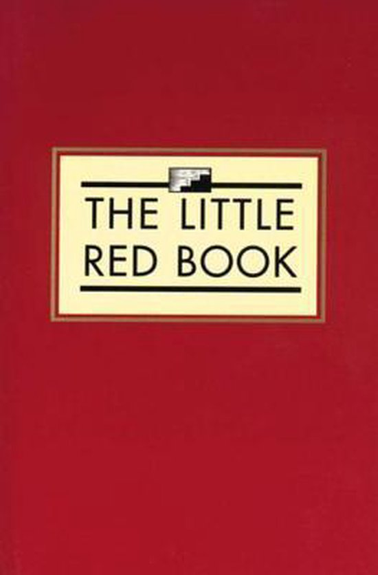 Boek cover The Little Red Book van Anonymous (Onbekend)