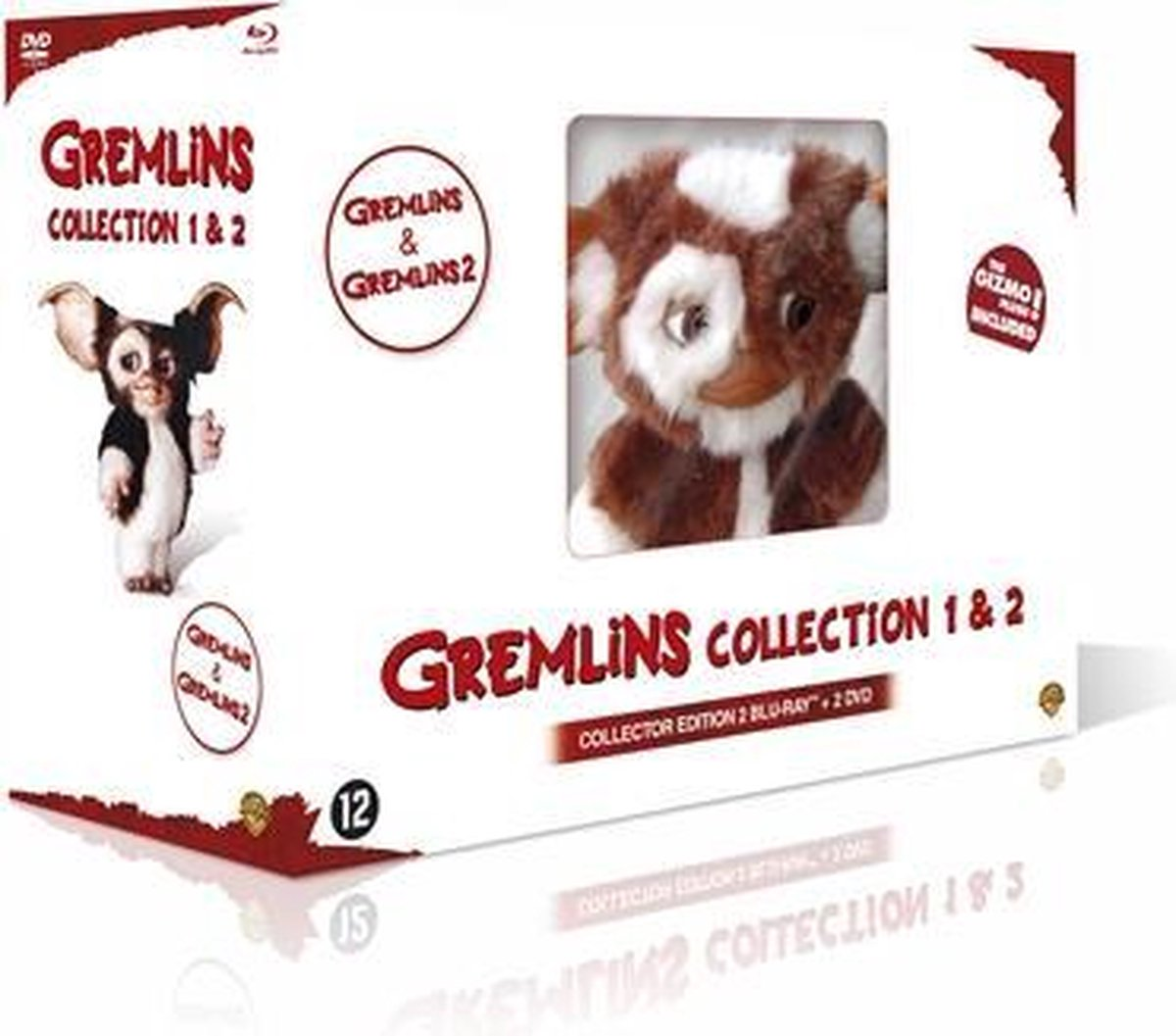 Gremlins 1 & 2 + Pluche (Blu-ray) - Movieplay