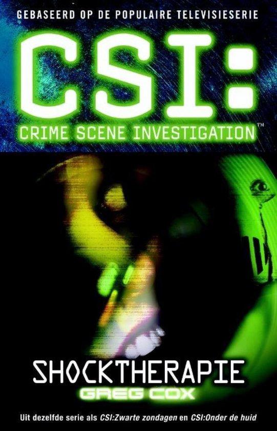 CSI: Shocktherapie - Greg Cosx pdf epub