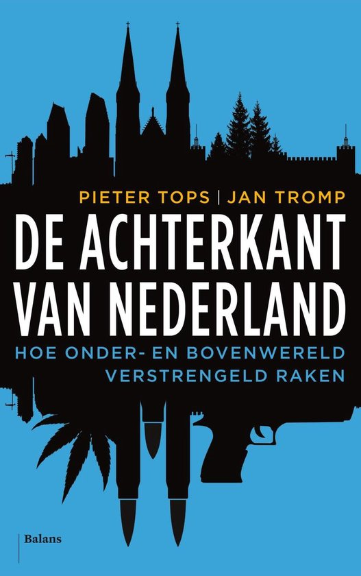 Boek cover De achterkant van Nederland van Jan Tromp (Onbekend)