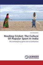 Reading Cricket