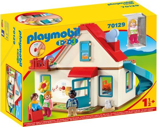 PLAYMOBIL 1.2.3 Woonhuis - 70129