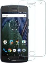 2 stuks Xssive Glass Screenprotector - Tempered Glass voor Motorola Moto G5 Plus