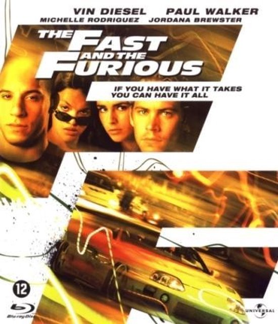 Cover van de film 'Fast And The Furious'
