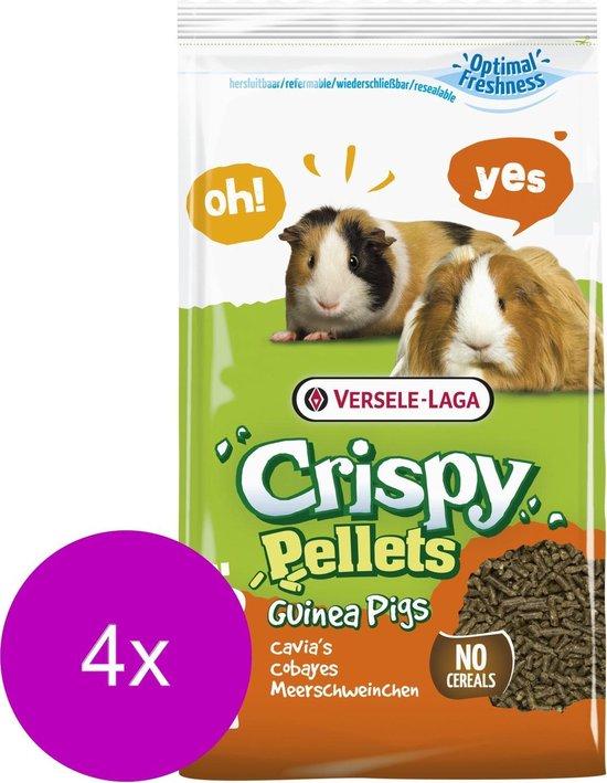 Versele-Laga Crispy Pellets Cavia - Caviavoer - 4 x 2 kg