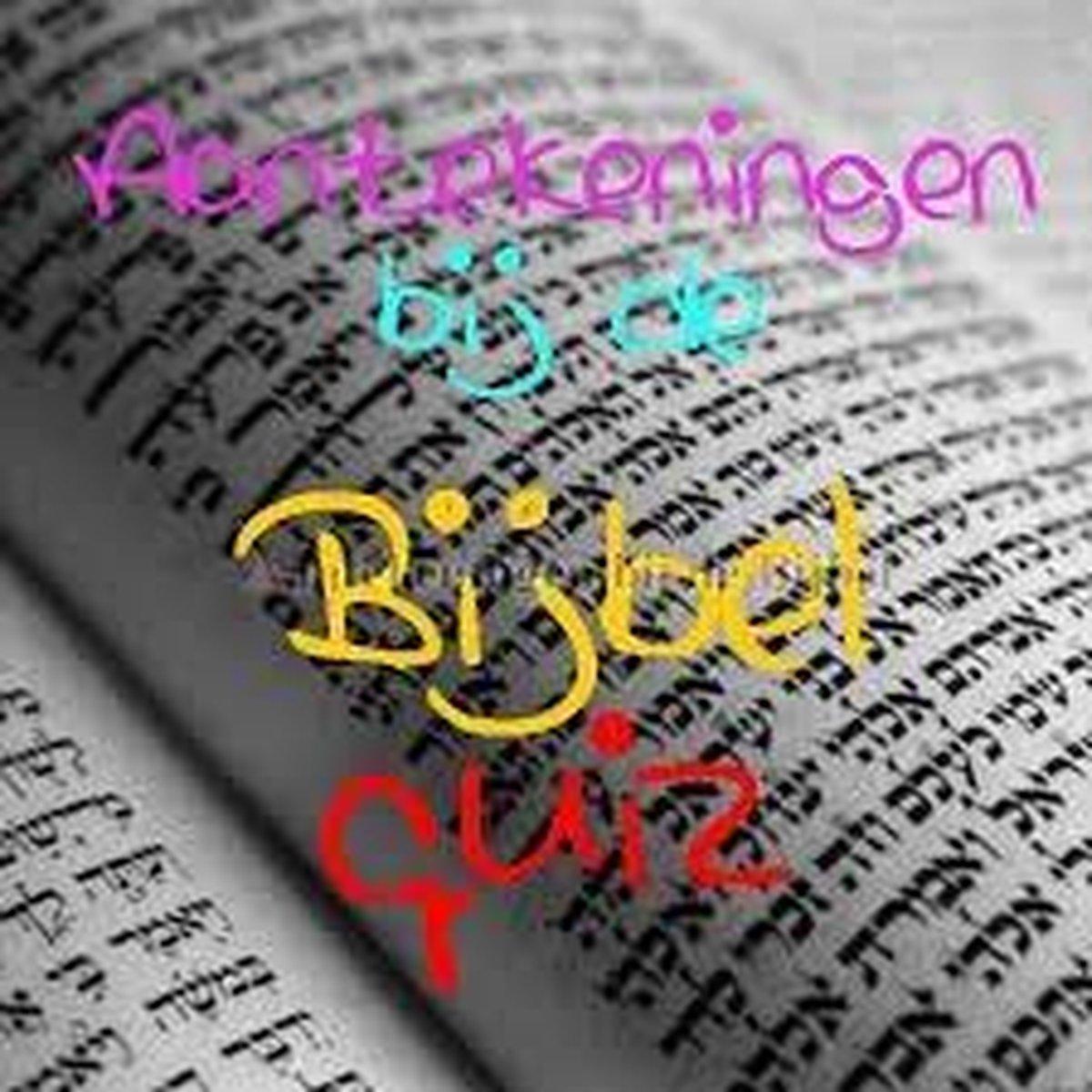 Goede bol.com | De Grote Bijbel-Quiz (speelbord en 1000 vragen, 6 NC-38
