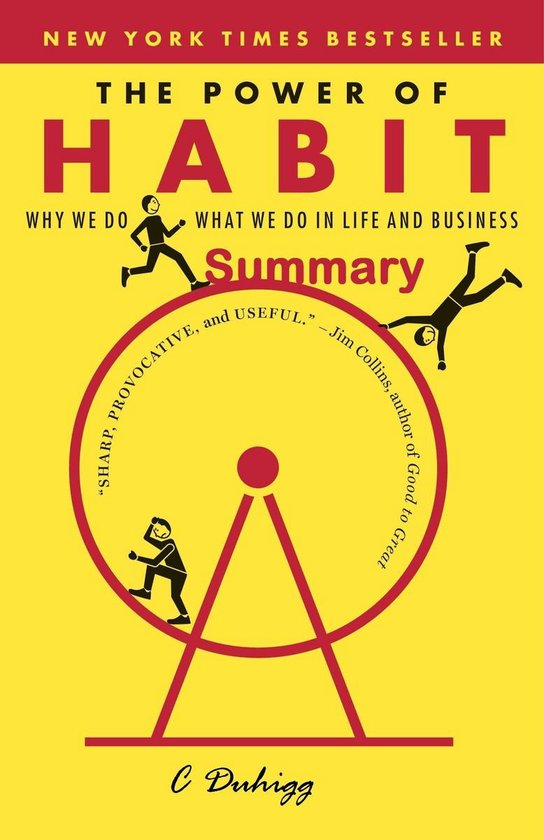 Boek cover The Power of Habit Summary van Charles Duhigg (Onbekend)